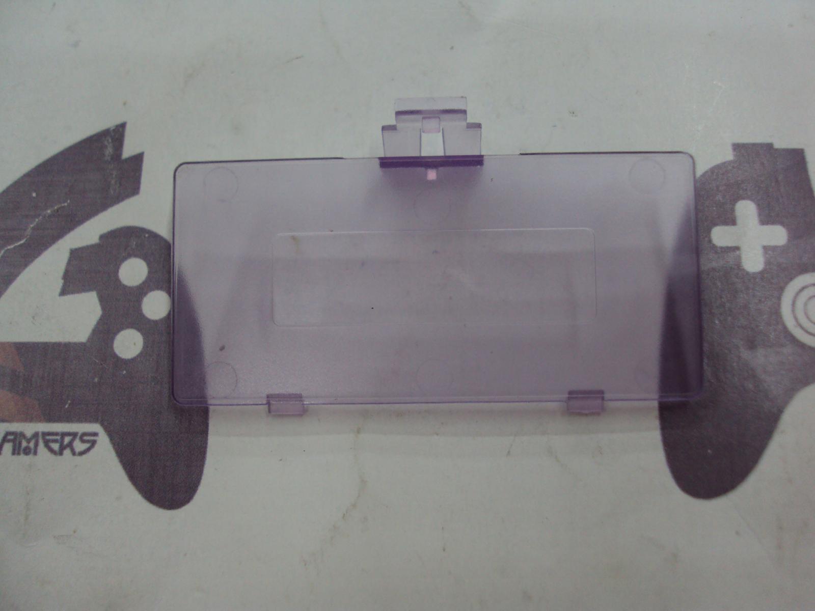 Tapa de pilas game boy pocket Clear Purple