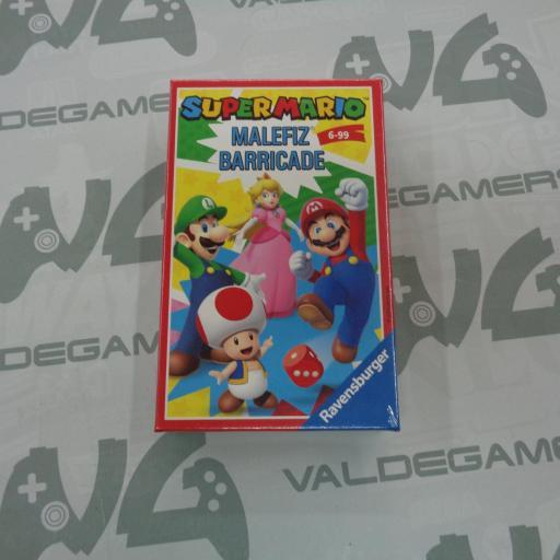 Super Mario  MALEFIZ BARRICADE - NUEVO