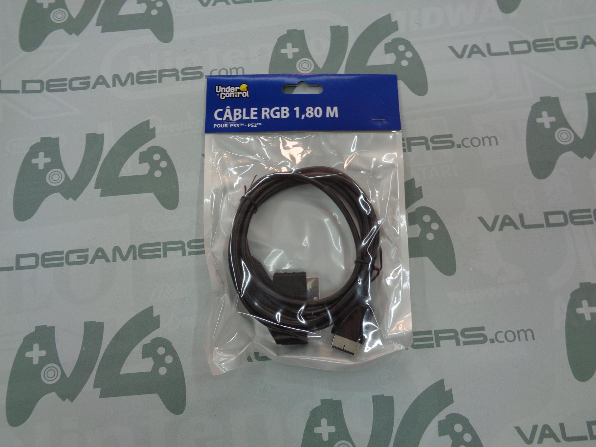 Cable RGB PS1 / PS2 / PS3 - NUEVO