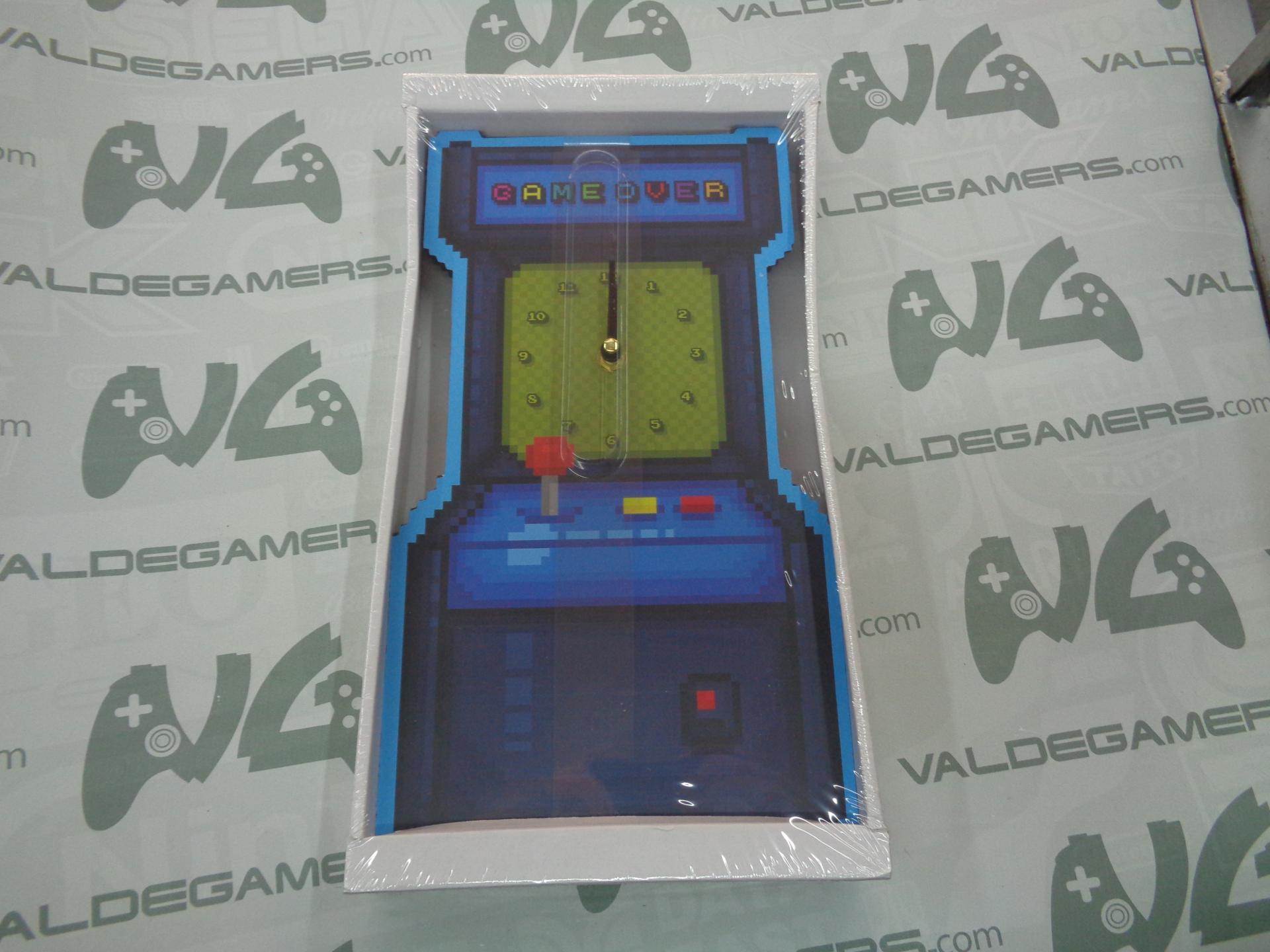 Reloj Arcade game over