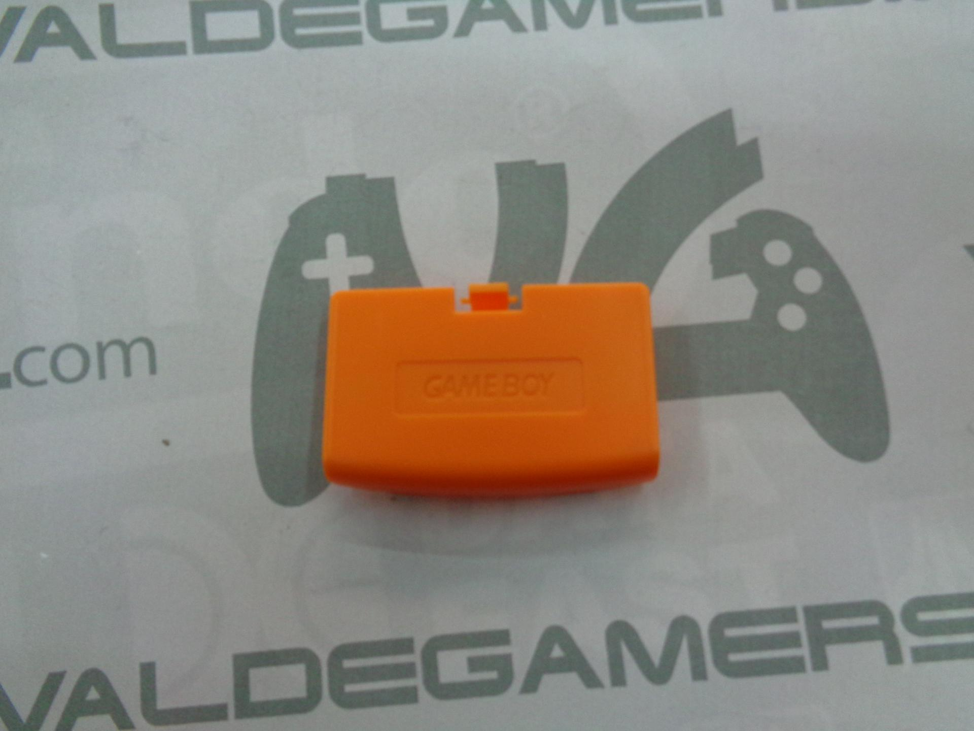 tapa de pilas game boy advance naranja - NUEVO