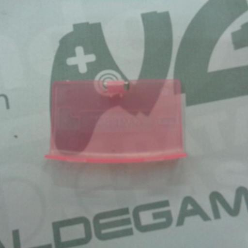 tapa de pilas game boy advance rosa transparente - NUEVO [1]