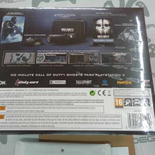 Call of Duty Ghosts Edición Prestige + Juego PS3 - NUEVO [1]