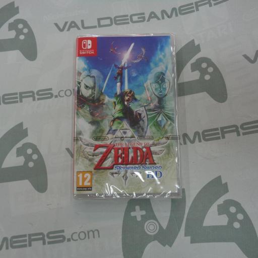 The Legend of Zelda: Skyward Sword HD - NUEVO