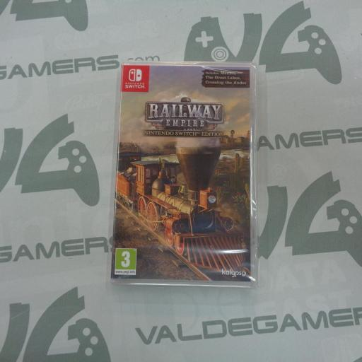 Railway Empire Nintendo Switch Edition - NUEVO