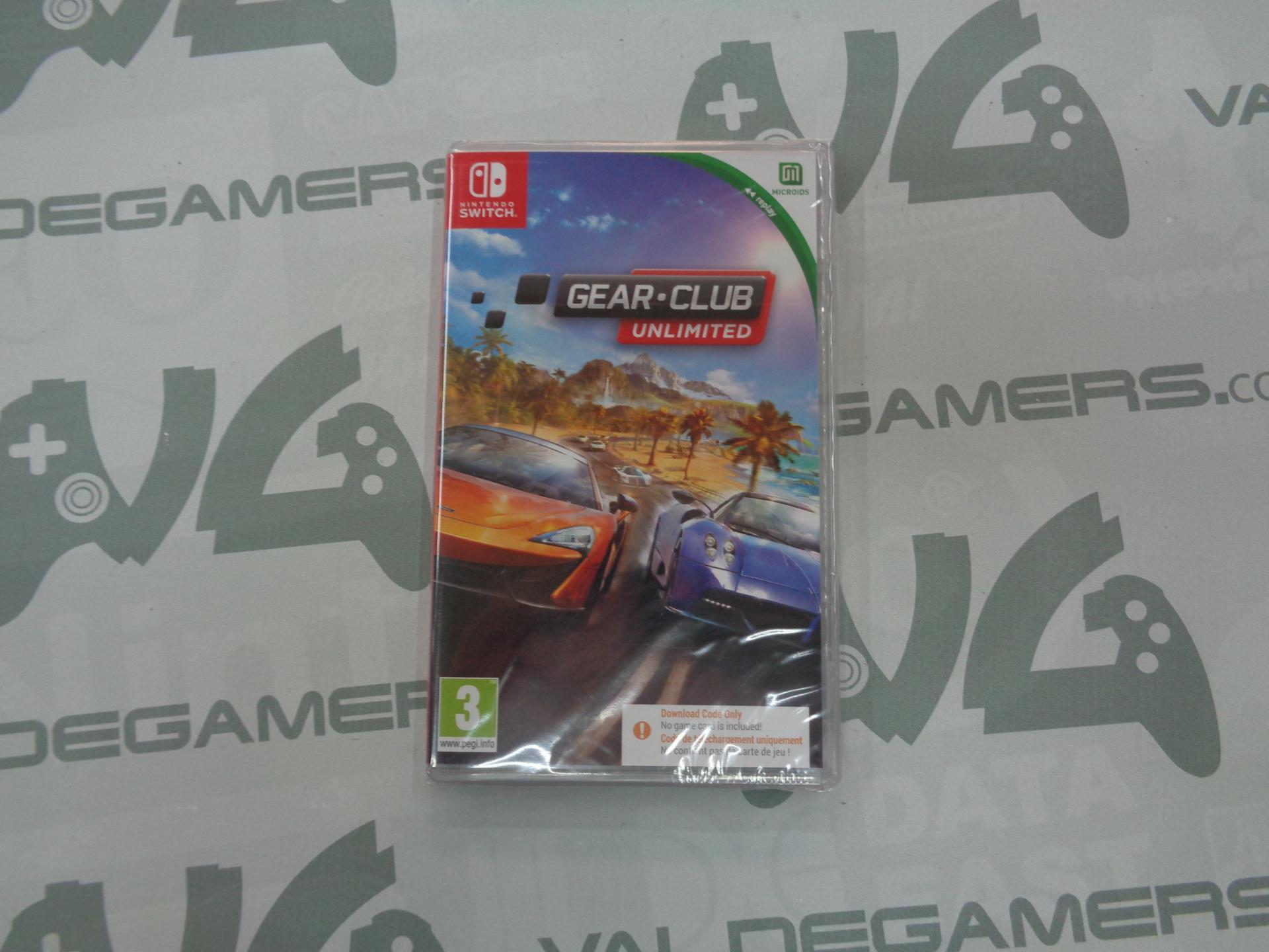 Gear.Club Unlimited (Código de descarga interno) - NUEVO