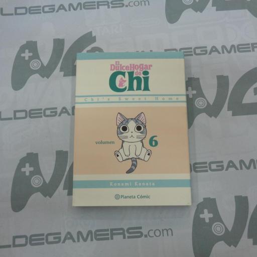 El dulce hogar de Chi 6 - Manga