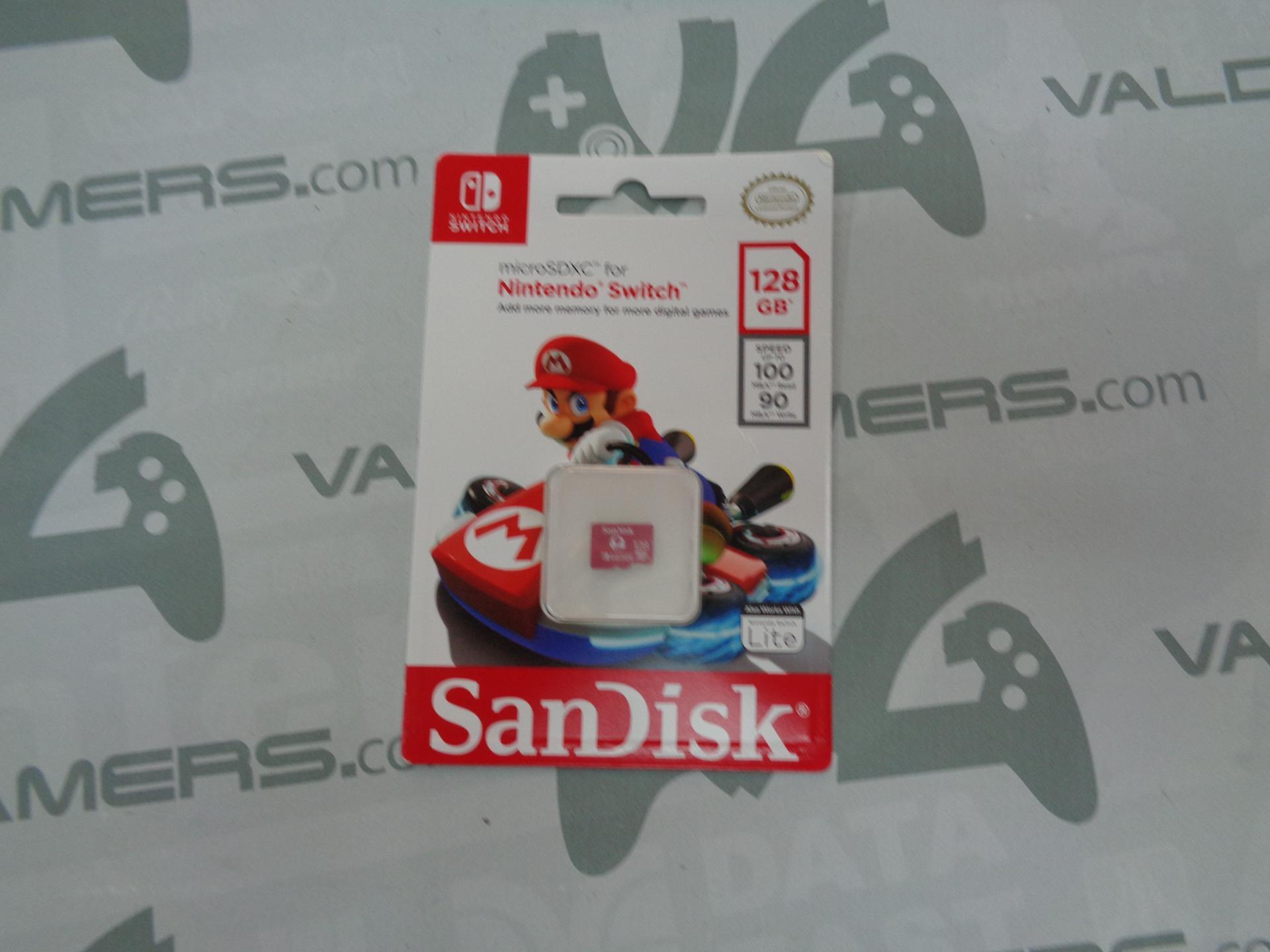 Memoria Sandisk 128Gb Microsdxc Toad -Licencia Oficial-  NUEVO