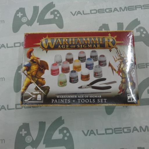 Set de pinturas y herramientas de Warhammer Age of Sigmar - NUEVO