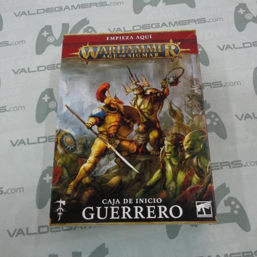 Caja de inicio Warhammer Age of Sigmar: Guerrero