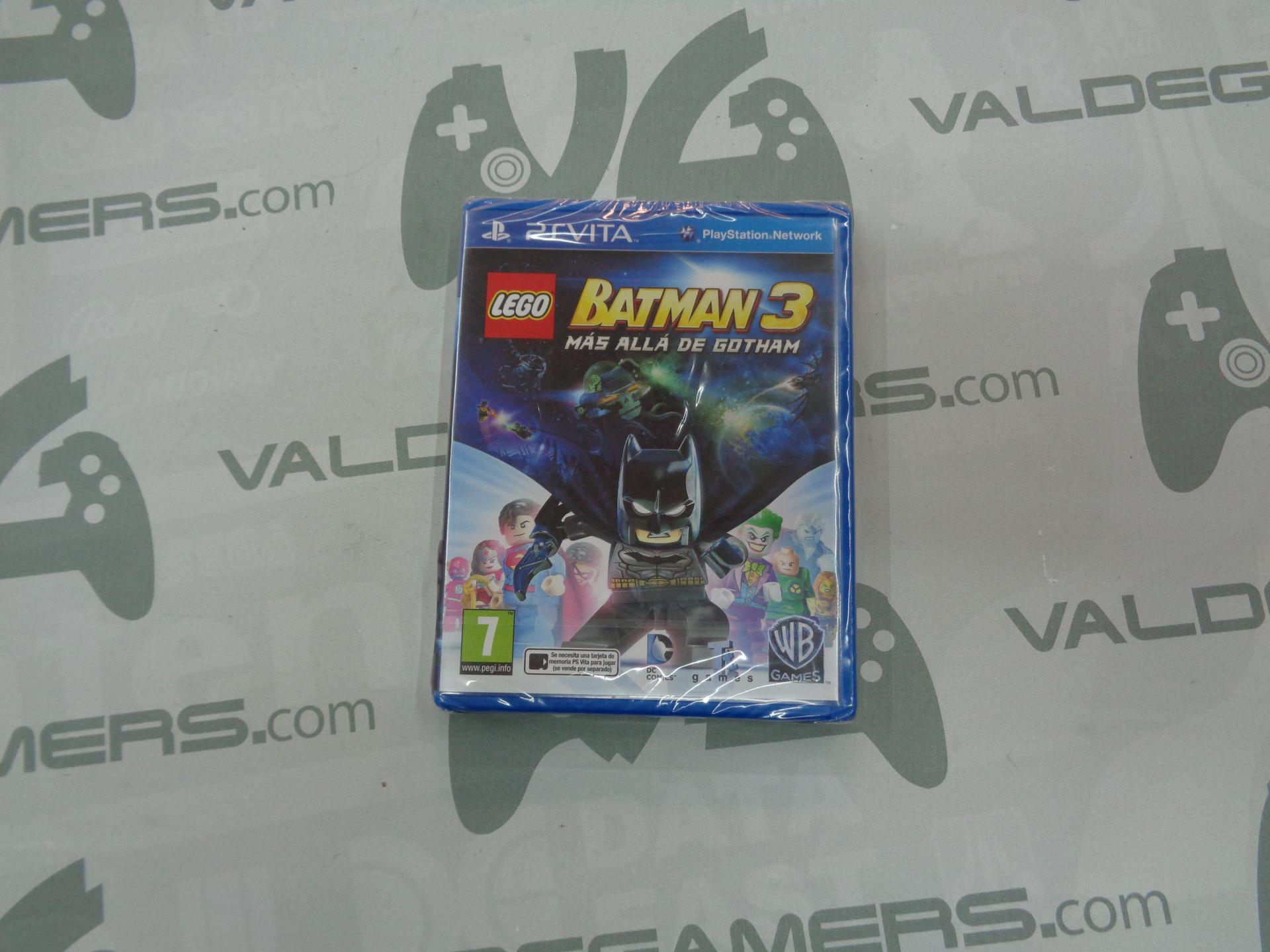 LEGO Batman 3 mas alla de gotham - NUEVO