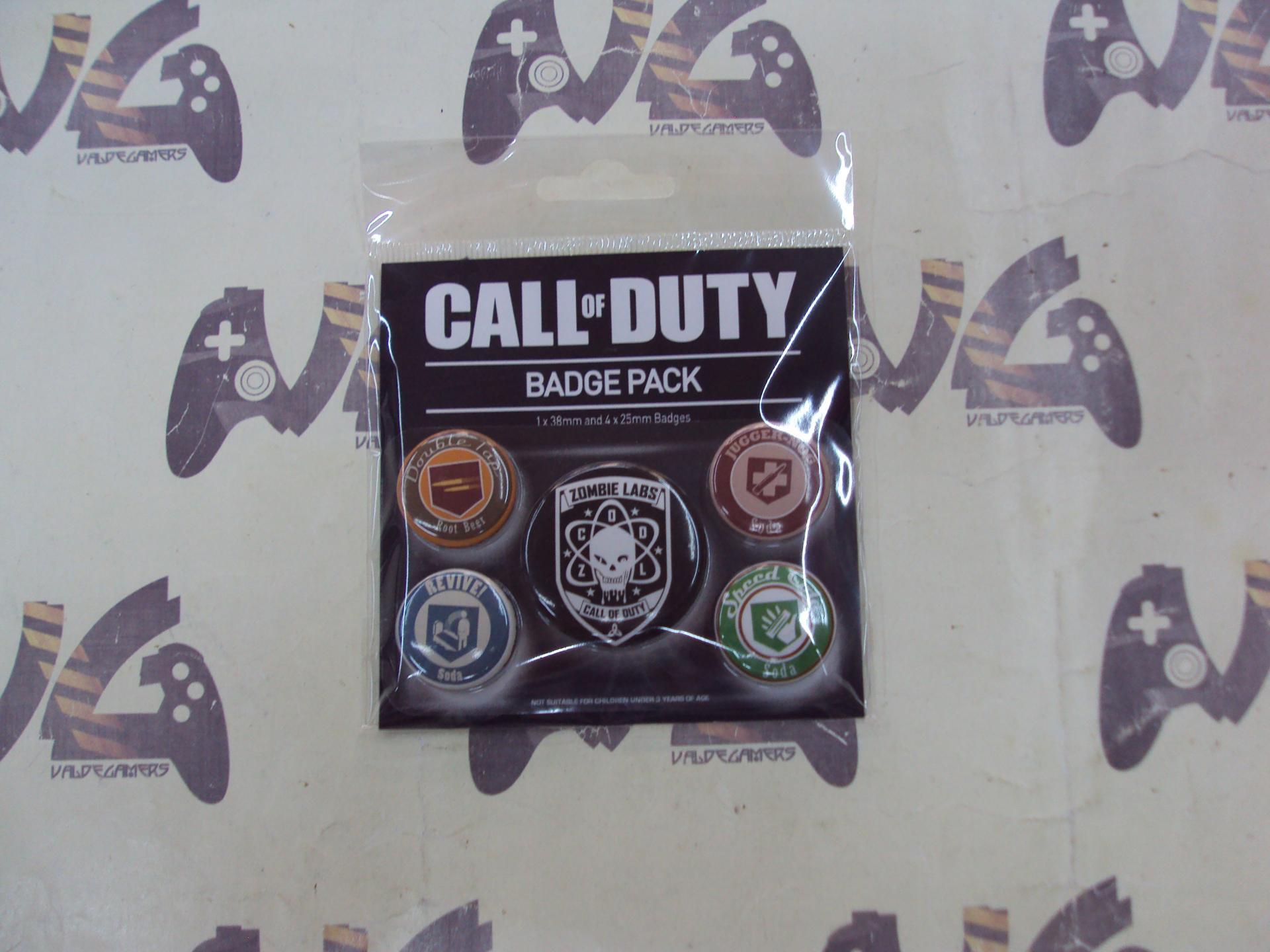Pack de Chapas Call Of Duty Soda