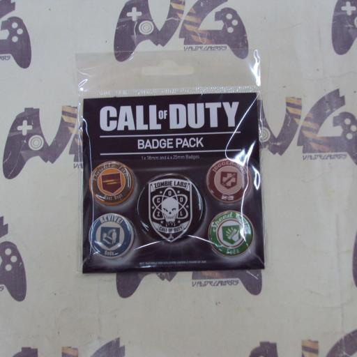 Pack de Chapas Call Of Duty Soda