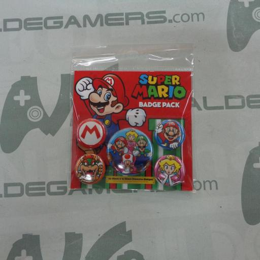 Pack Chapas Super Mario