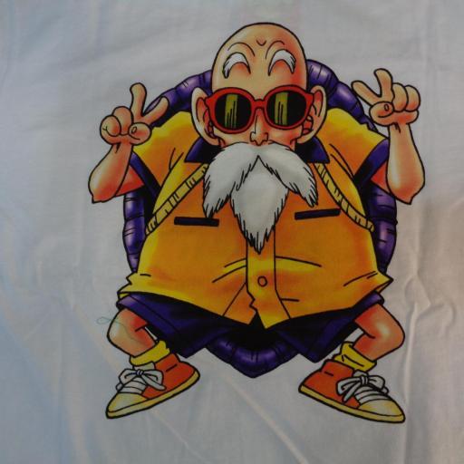 Camiseta Roshi