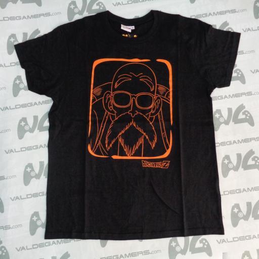 Camiseta Roshi Negra