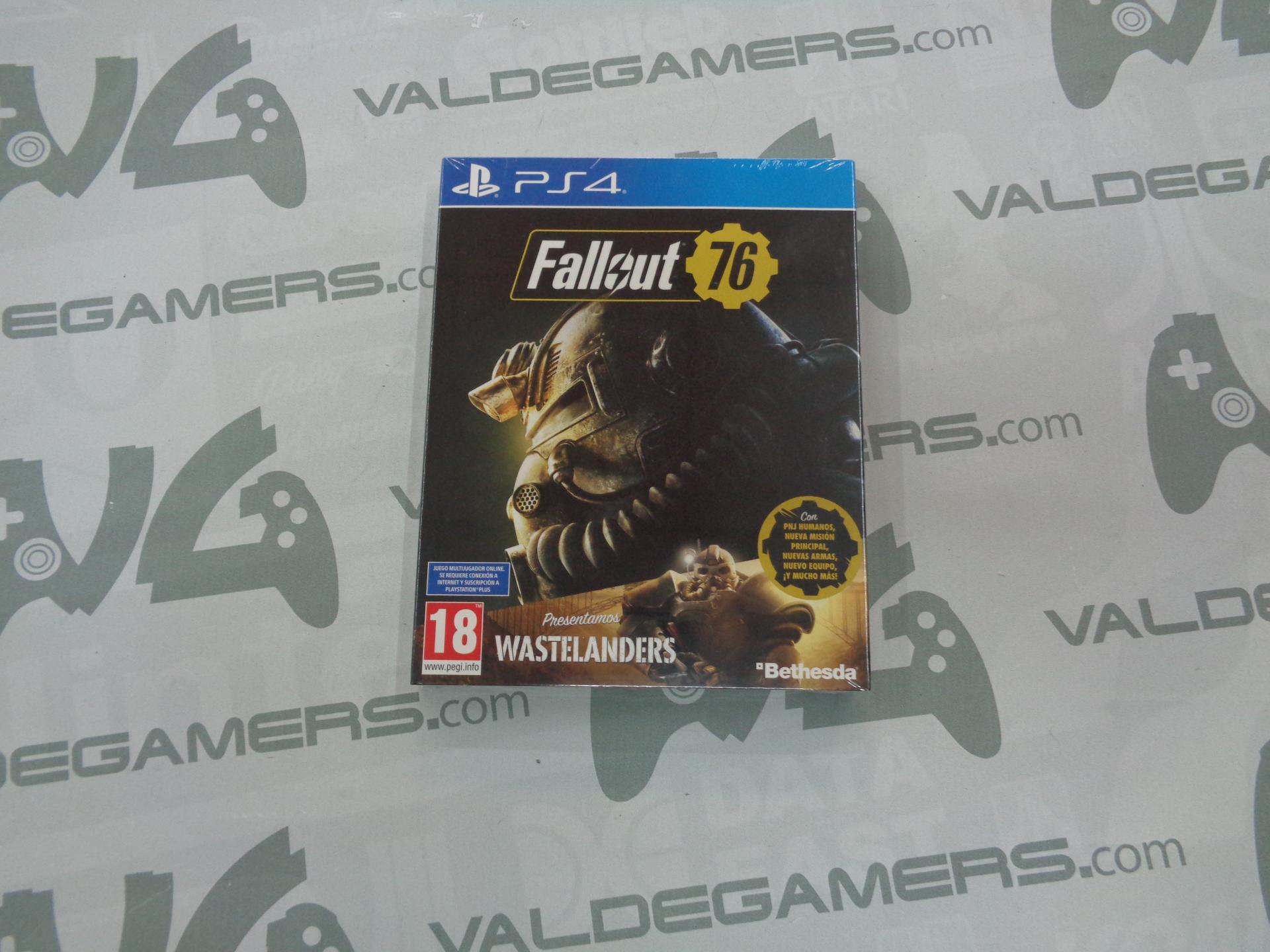 Fallout 76 Wastelanders - NUEVO