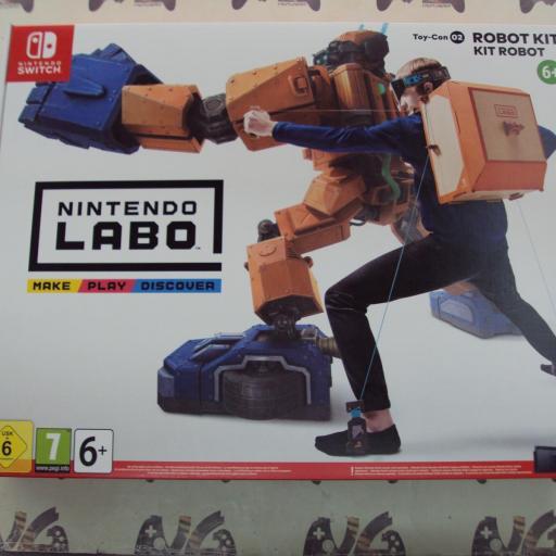 Nintendo Labo, Kit De Robot - Toy-Con 02