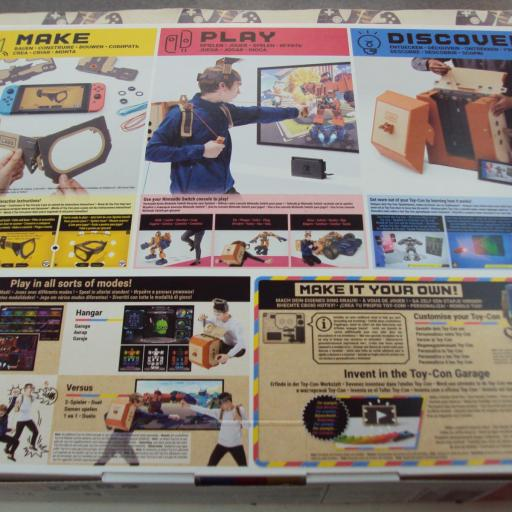 Nintendo Labo, Kit De Robot - Toy-Con 02 [1]