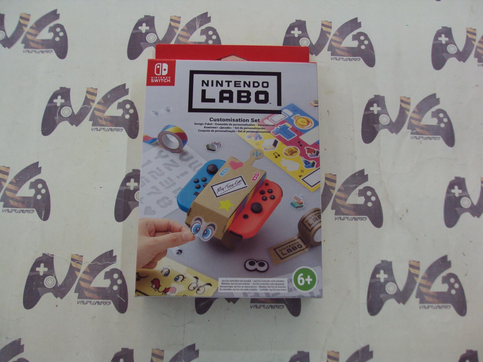 Kit de Personalización - Nintendo Labo,
