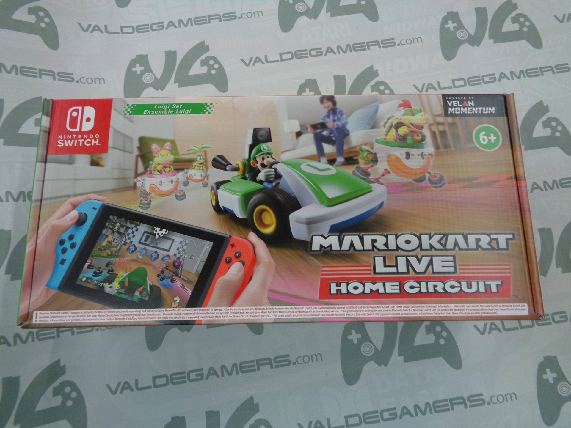 Mario Kart Live Home Circuit - Edición Luigi - NUEVO