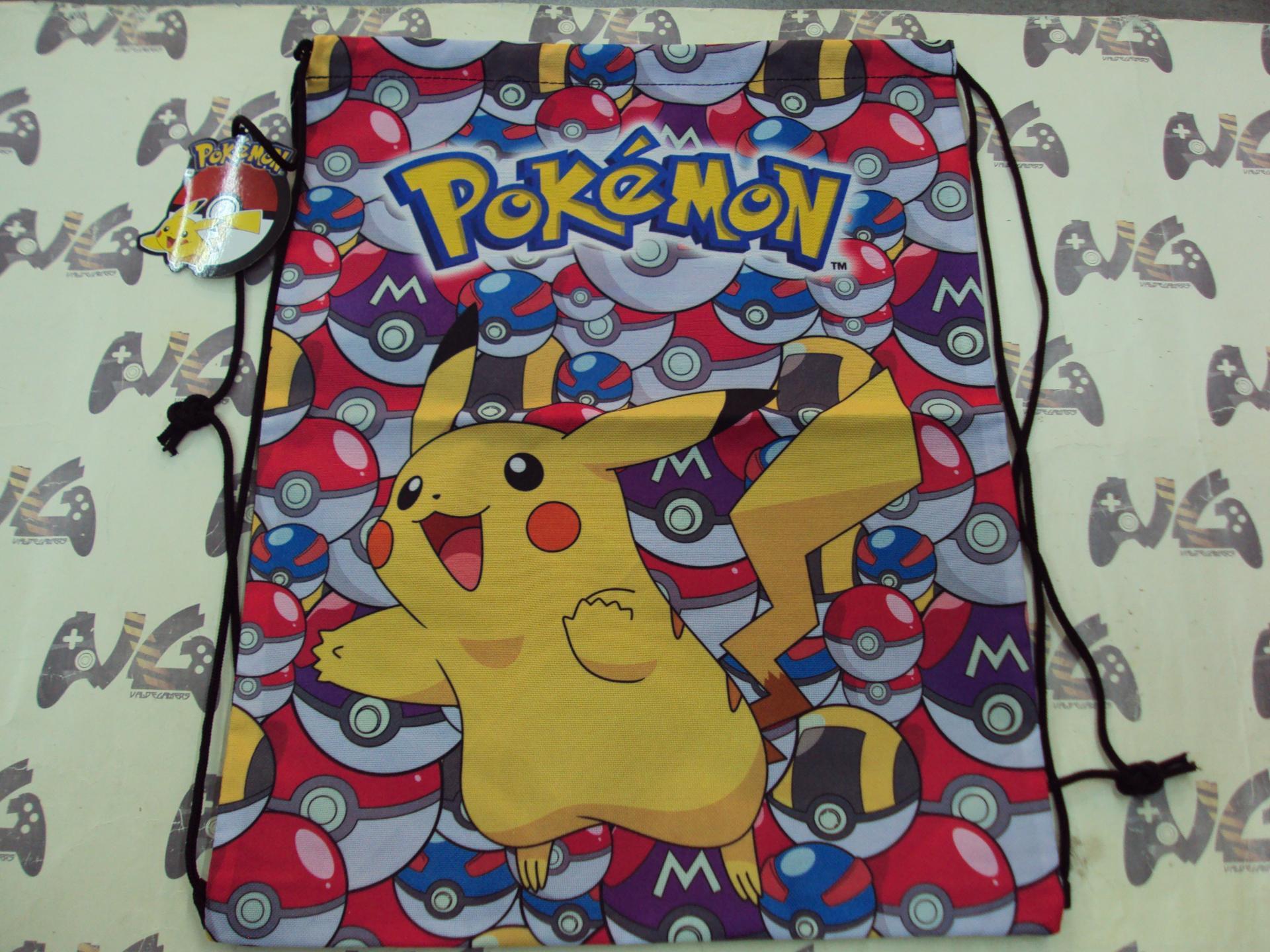 mochila cuerdas Pokemon