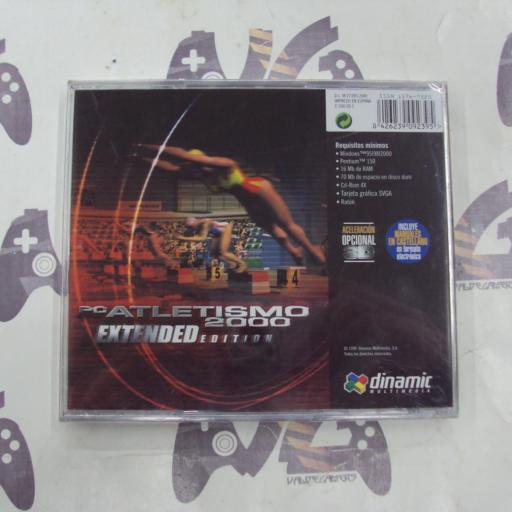 PC Atletismo  2000 Extended edition- NUEVO [1]