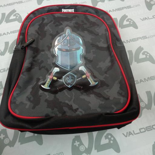 Mochila Black Night Fortnite adaptable 42cm