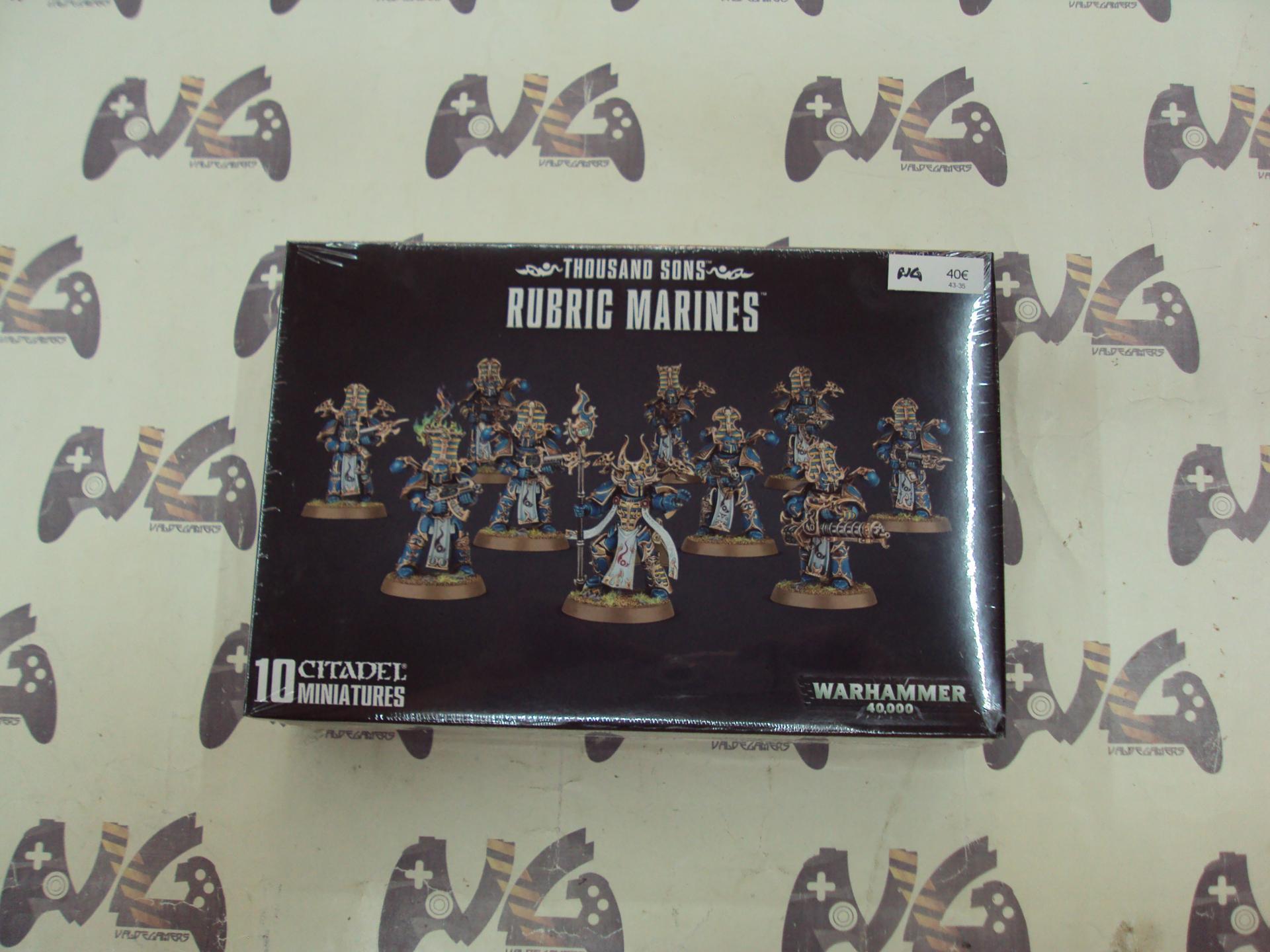 THOUSAND SONS RUBRIC MARINES - NUEVO