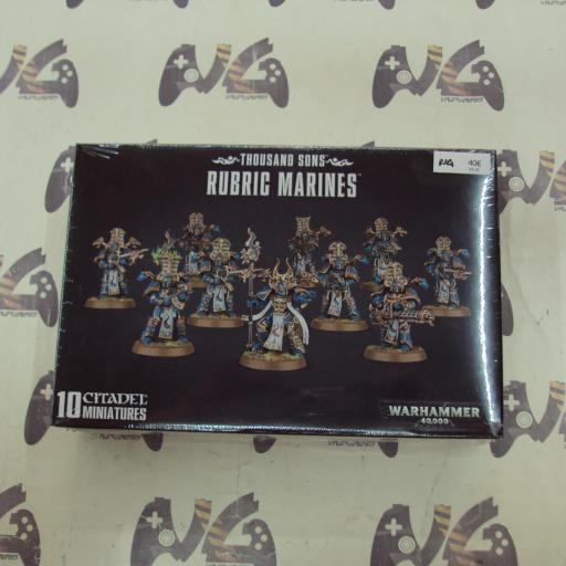 THOUSAND SONS RUBRIC MARINES - NUEVO
