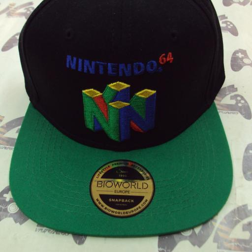 Gorra Nintendo 64 [1]