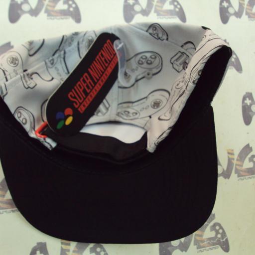 Gorra Super nintendo pad [1]