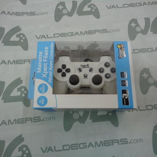 Mando xpert undercontrol compatible Wii/WiiU - NUEVO [0]