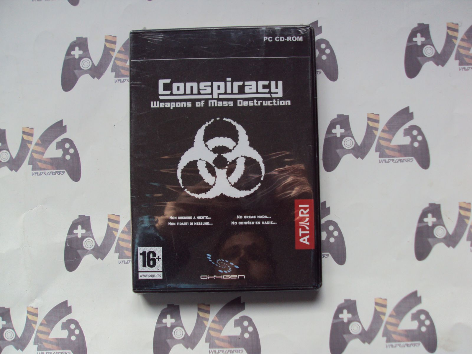 Conspiracy-Weapons of Mass Destruction - NUEVO