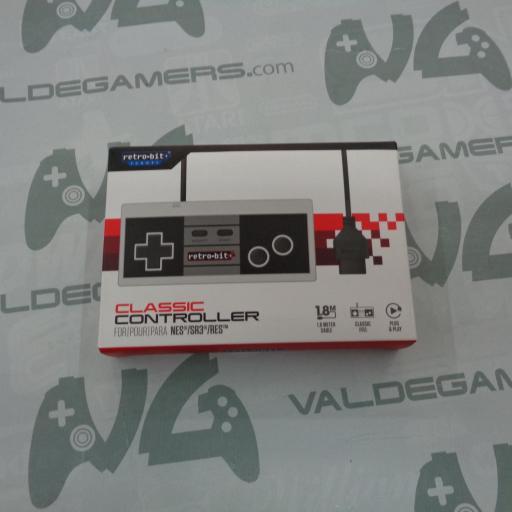 Retro-Bit 8-Bit Classic Controller para NES - NUEVO