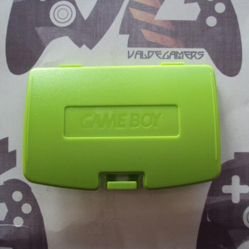 tapa de pilas game boy color  - verde kiwi [0]