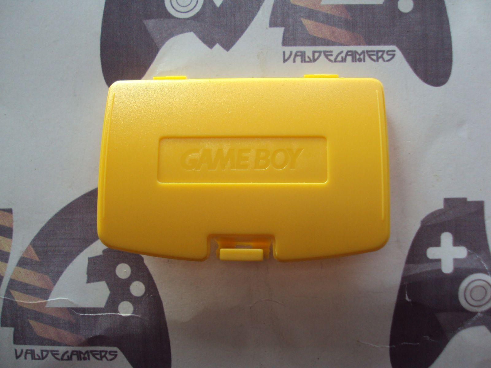 tapa de pilas game game boy color - amarillo