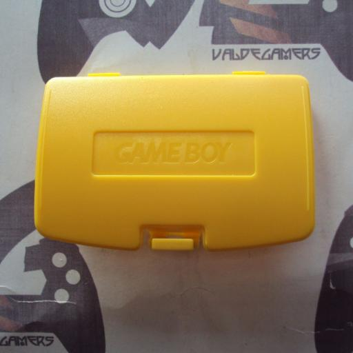 tapa de pilas game game boy color - amarillo