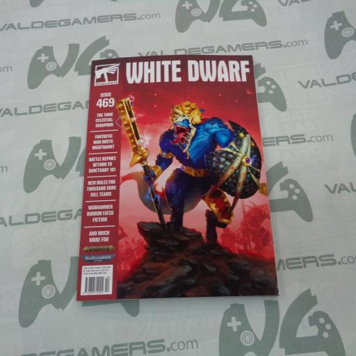 White Dwarf 469  (Inglés) - NUEVO