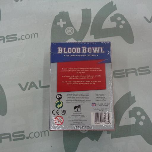 Blood Bowl - Card Park  [1]