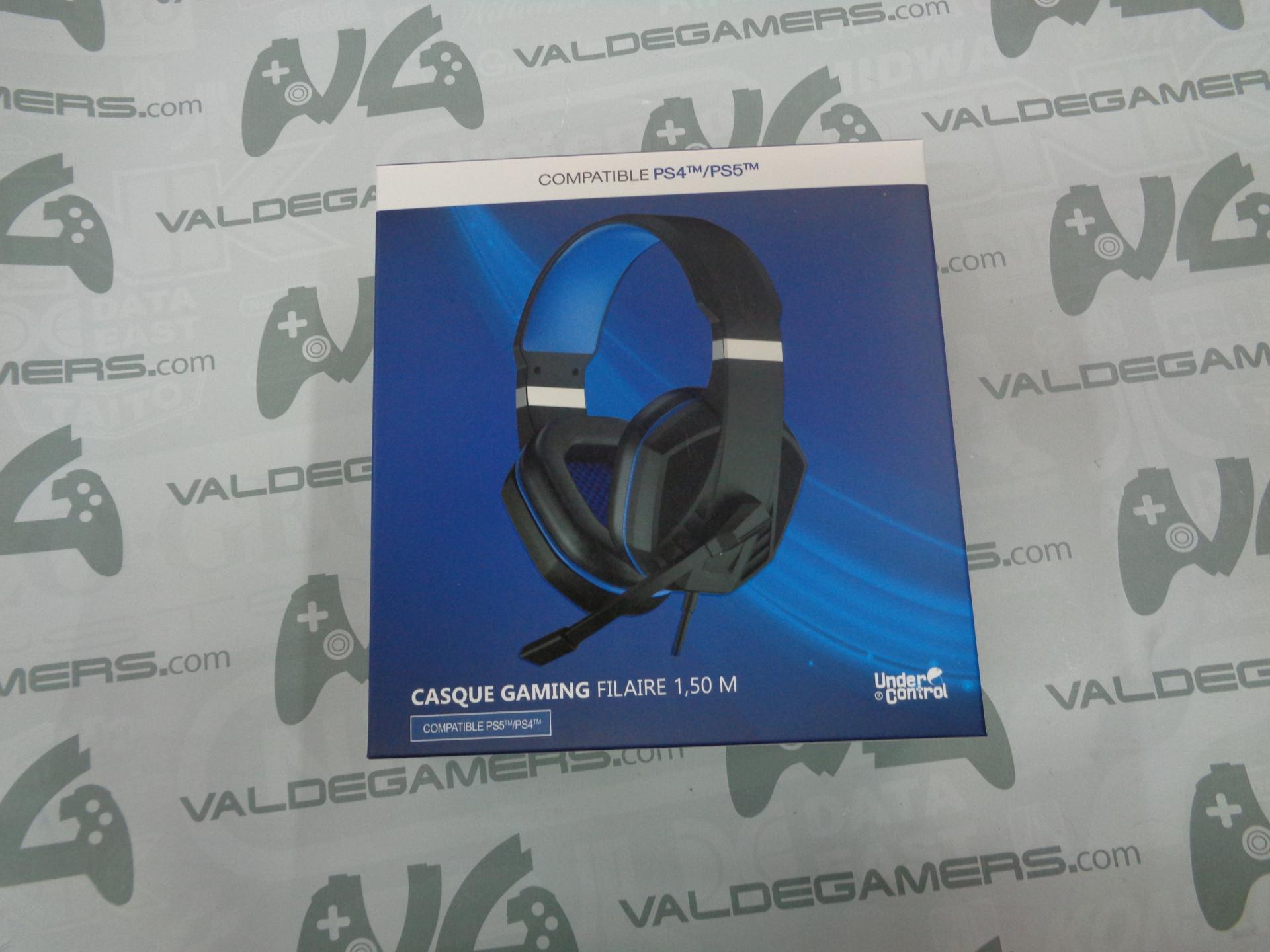 Auriculares con cable PS4 / PS5