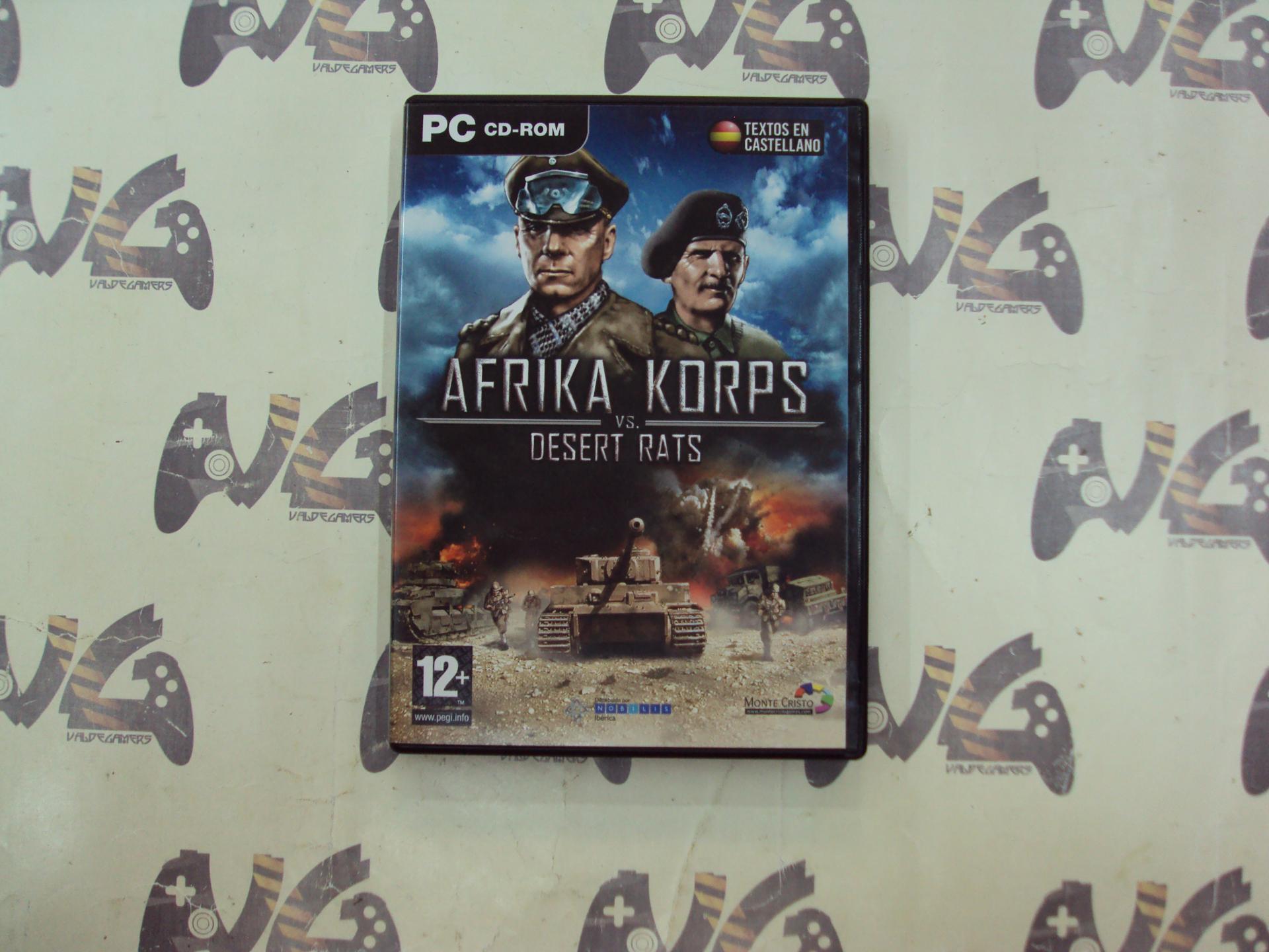 Afrika Corps vs Desert Rats