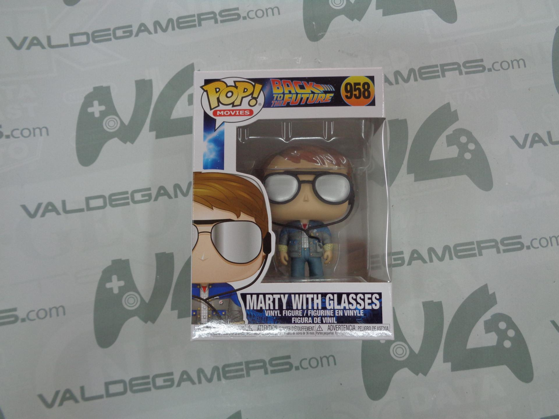 Funko Pop - Marty With Glasses - 958