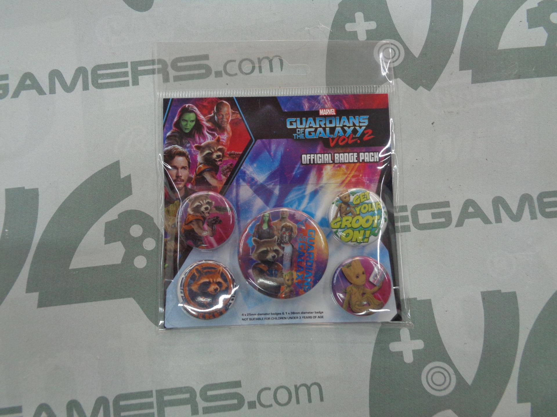 Pack de chapas Guardianes de la Galaxia vol. 2