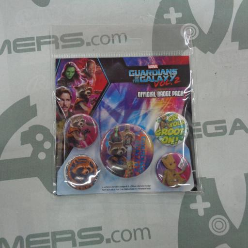 Pack de chapas Guardianes de la Galaxia vol. 2