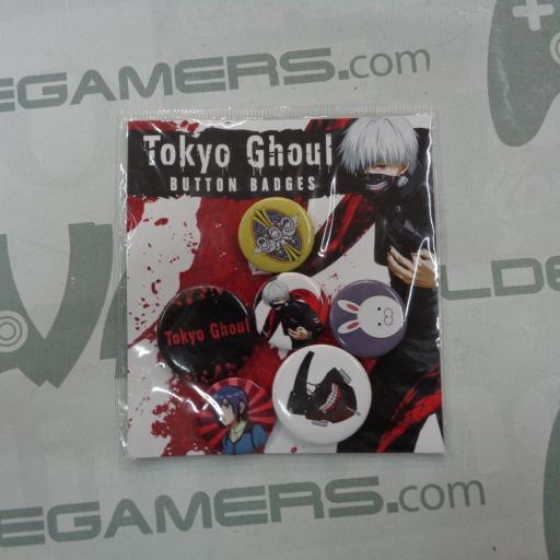 Pack de chapas Tokyo Ghoul