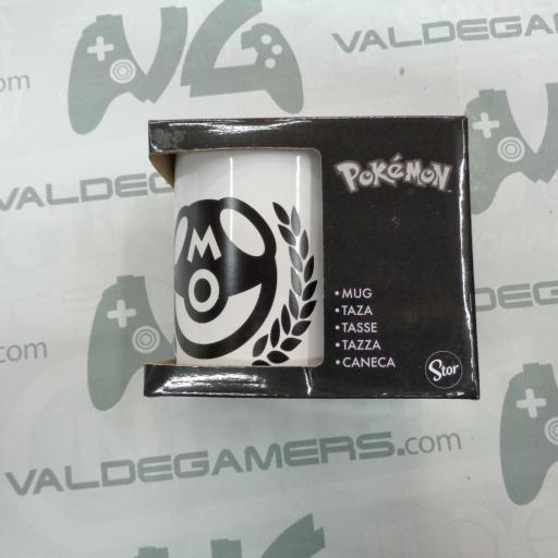 Taza Pokeball Negra 325ML