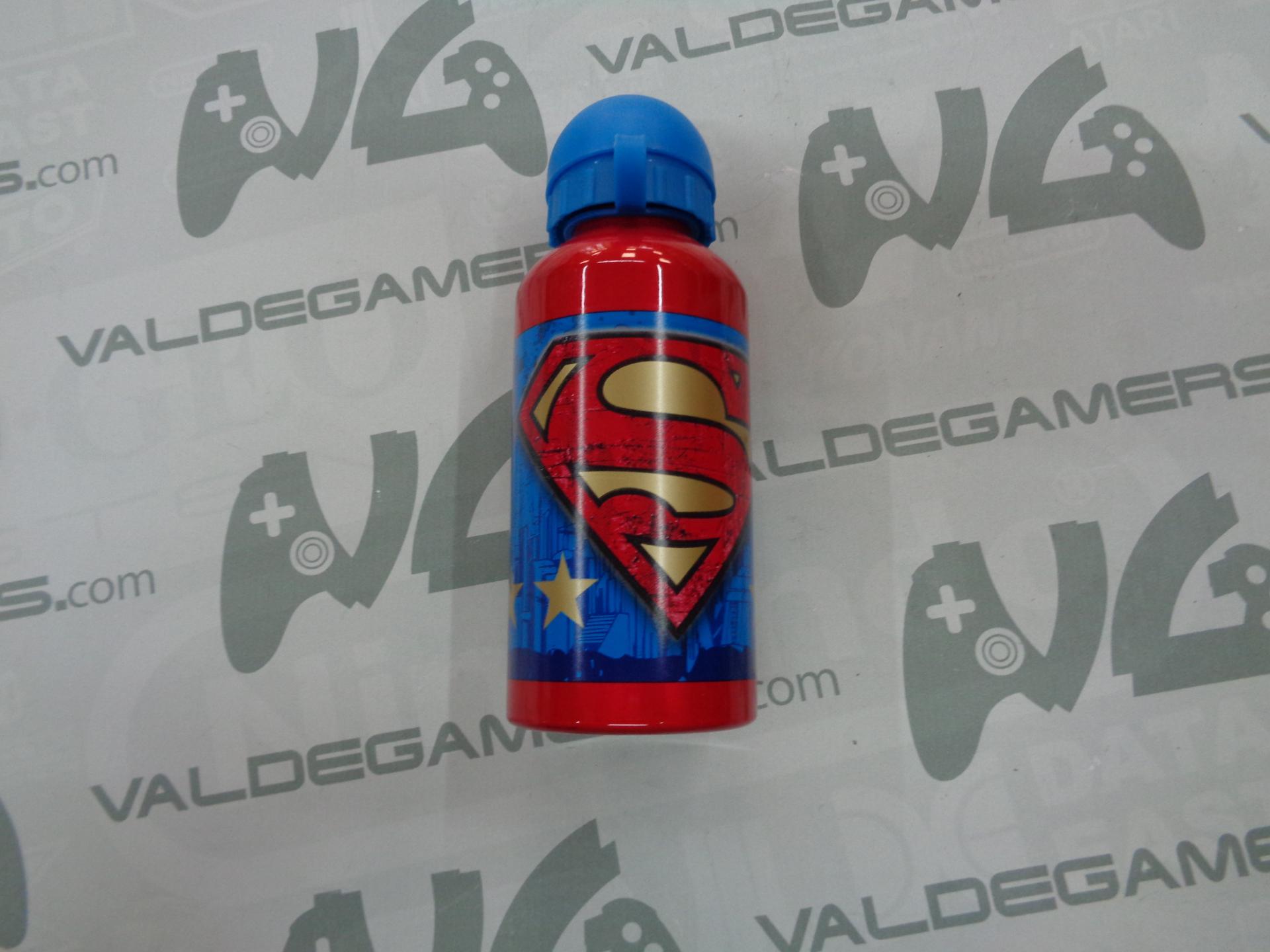 Botella aluminio Superman 400ML