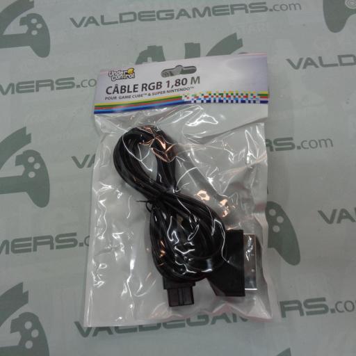 Cable RGB Super Nintendo PAL / GAME CUBE - NUEVO