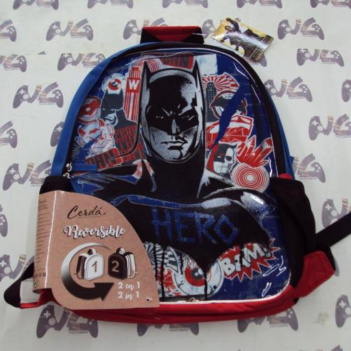 Mochila reversible Batman vs Superman